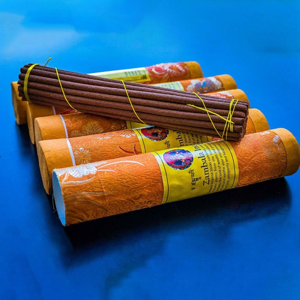 Himalayan Zambala Incense - organic incense - non toxic incense -non-addictive -handmade incense - eco friendly incense - himalayan incense - incense made from herbs - incense for meditation - incense for healing
