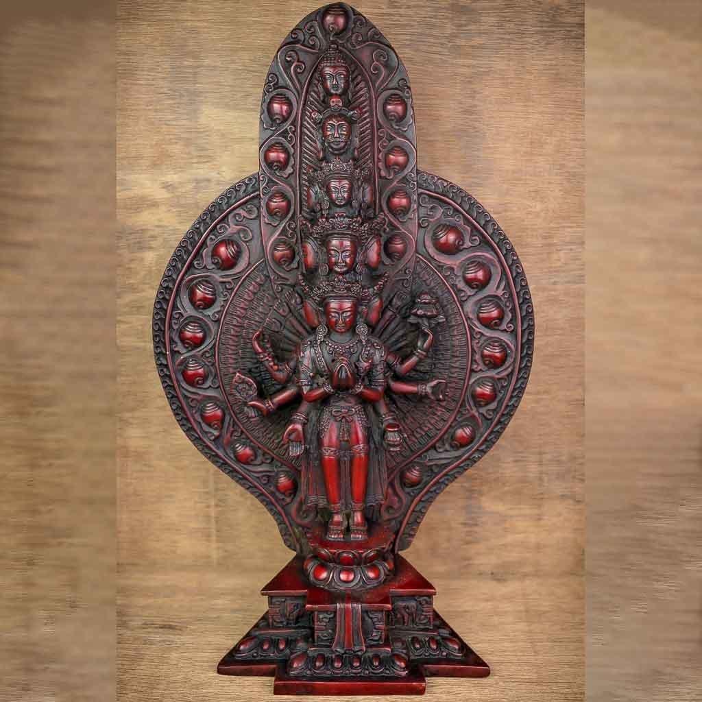 Thousand Arm Avalokiteshvara Statue