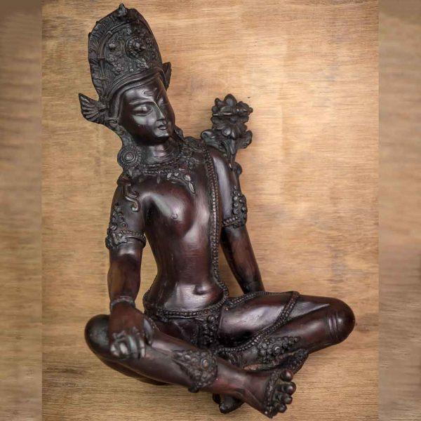 Indra Statue Black