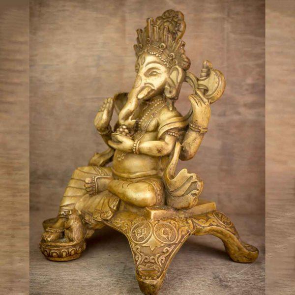 Ivory Aashirvaad Ganesh Statue