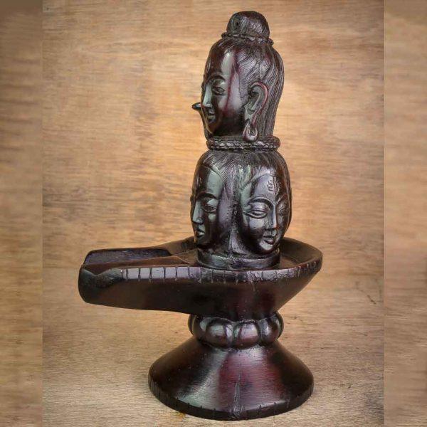 Shiva on Shiva Statue - shiva statue- lord shiva- mandala shiva statue- nataraja- shiva on shiva statue-thamelshop - spritual items - hindu god - god of god - mahadev - parbati - ganesh - lord ganesh family - antique shiva statue -Shivalinga- lingam- shiva linga