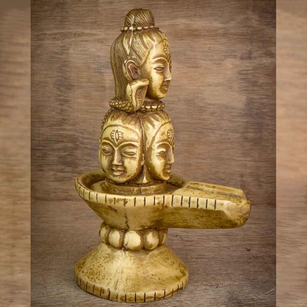 Shiva on Shiva Statue – shiva statue- lord shiva- mandala shiva statue- nataraja- shiva on shiva statue-thamelshop – spritual items – hindu god – god of god – mahadev – parbati – ganesh – lord ganesh family – antique shiva statue -Shivalinga- lingam- shiva linga