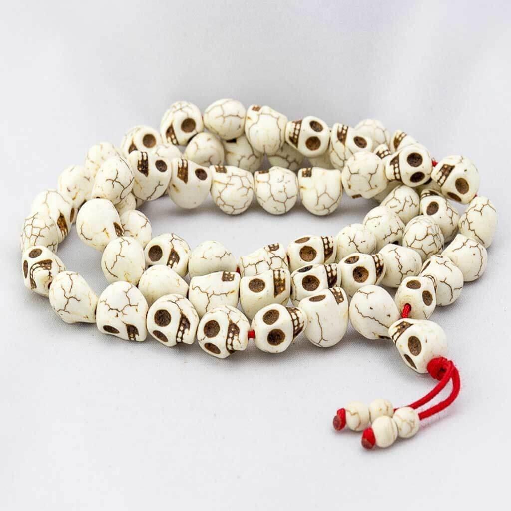 Full Skull Long Wrist Mala