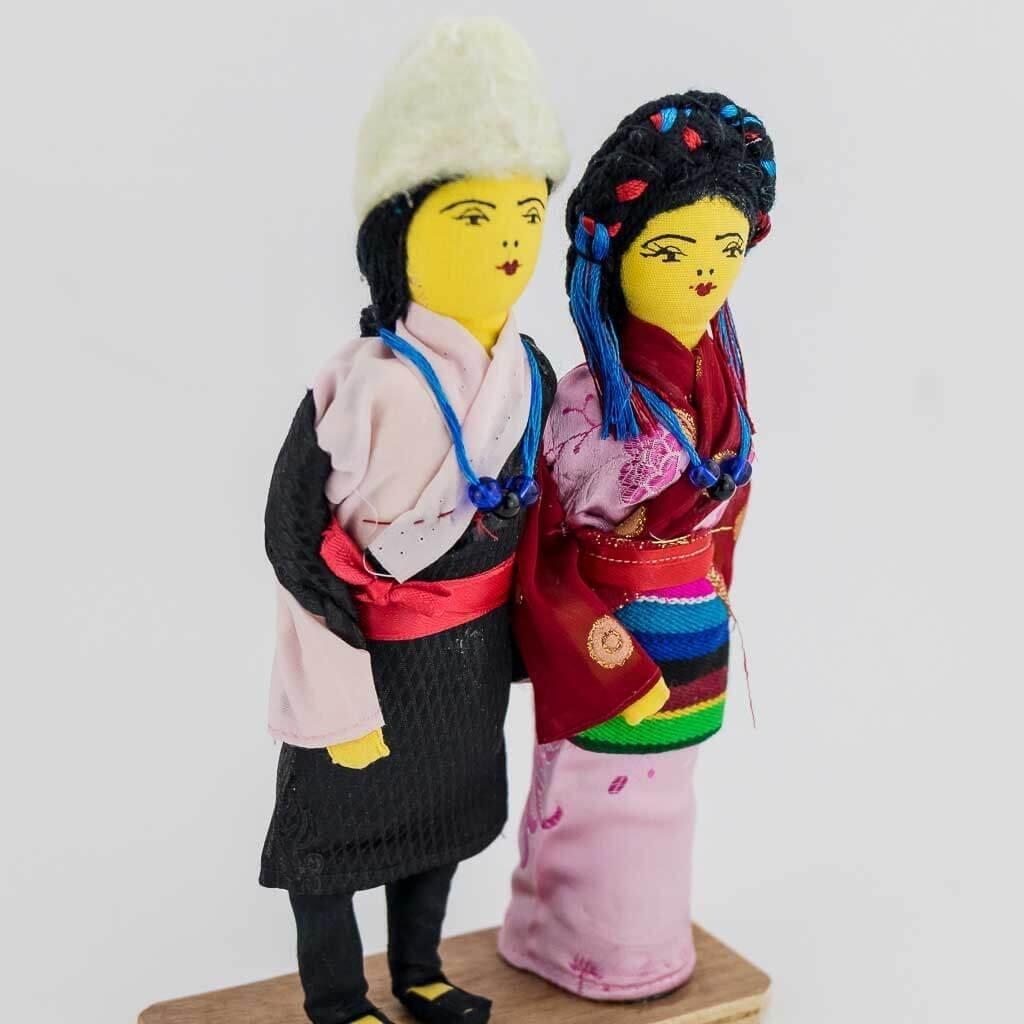 sherpa couple doll