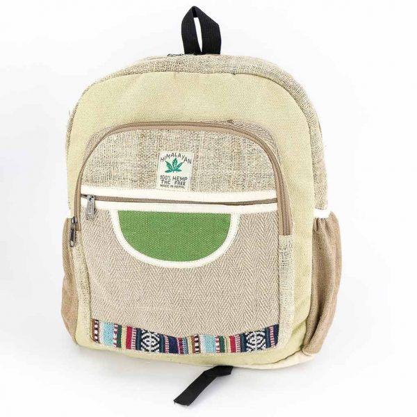 Hemp Backpack - HB75014-thamel-shop-best-cheap-hippie-nepal-clothing-australia