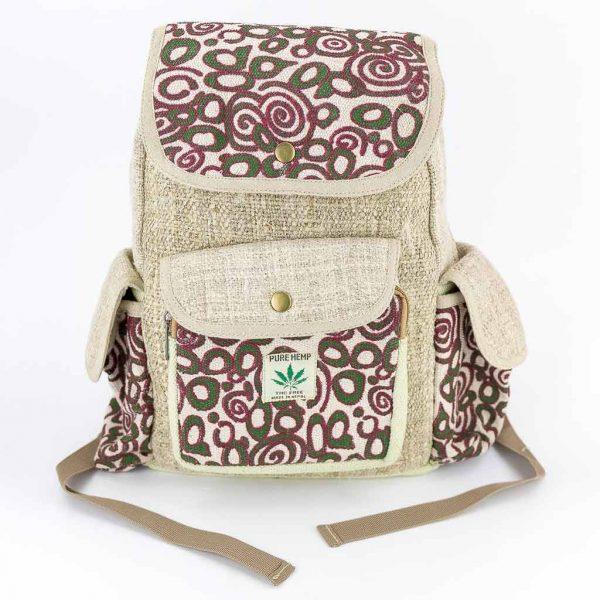 Hemp Backpack - HB75028-Thamel-Shop-Worldwide-shipping-hippie