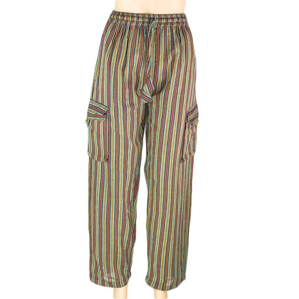 thamelshop-striped-olivegreen-box-pants-nepali-clothing-in-australia