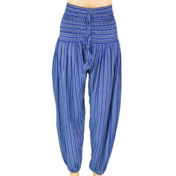 49-thamel-shop-blue-harem-pant-stripe-women-hippie-nepal-australia-worldwide-shipping