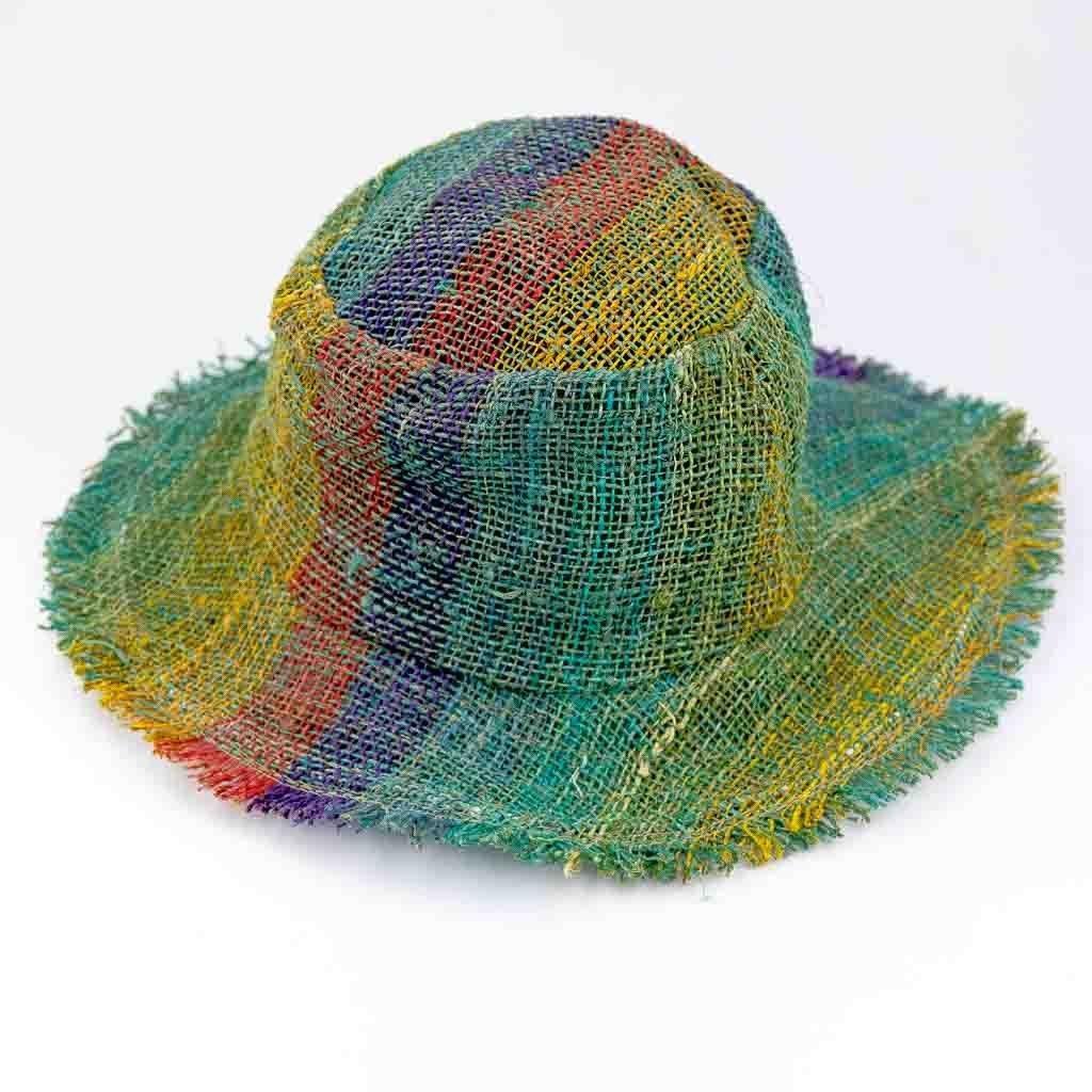 Hemp Rainbow Sun Hats
