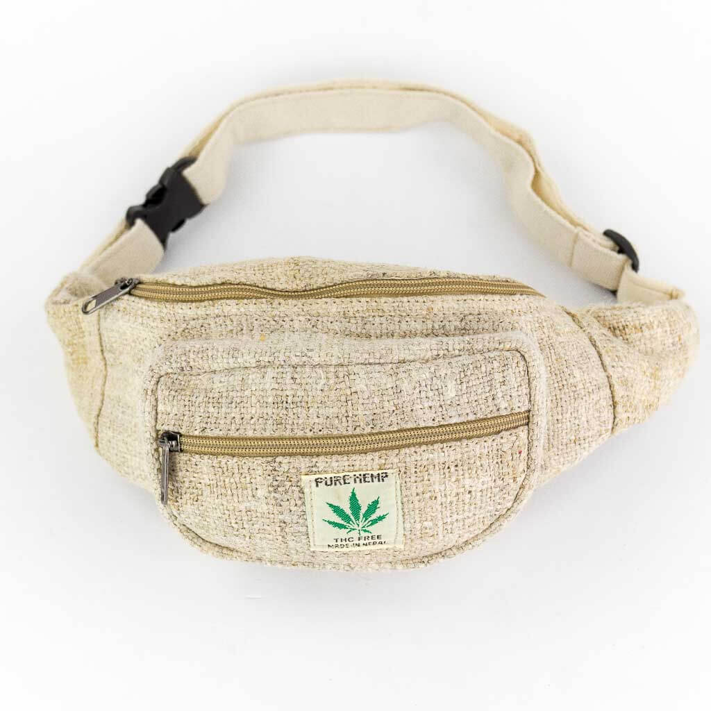 Pure Hemp Bum Bags - Thamelshop - bum bags - hemp bum bags - cotten bum bag - eco-friendly bum bag - organic bum bag -unique bum bag -nepali bum bag -handmade bum bag -colourfull bum bag