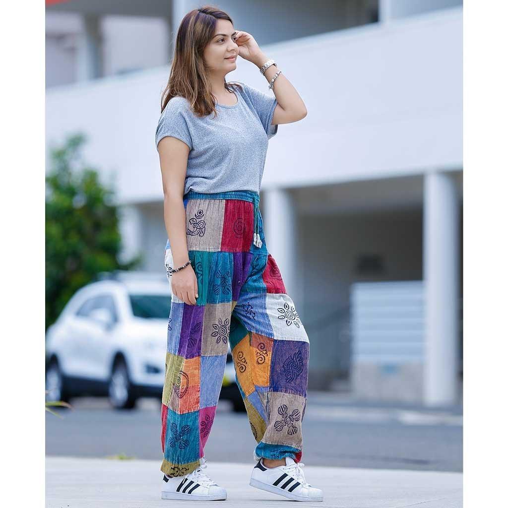 Patch-Harem-Pant-Stripe
