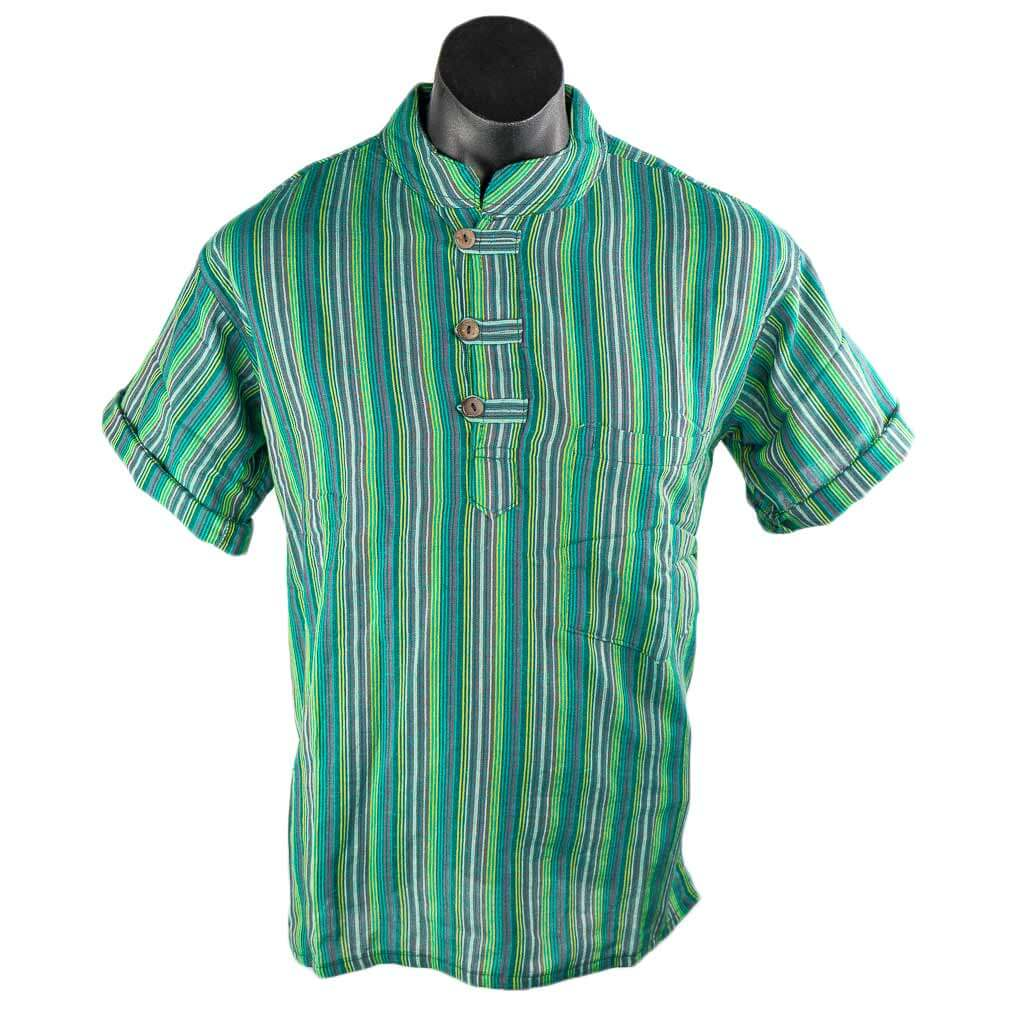 sea-green-kurta-short-sleeve-thamelshop-hippie-fashion-nepali-clothing-in-australia