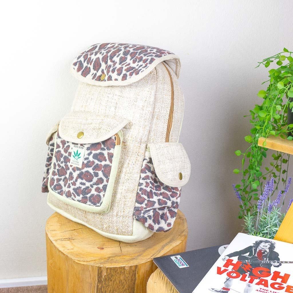 Organic Hemp Backpack-44