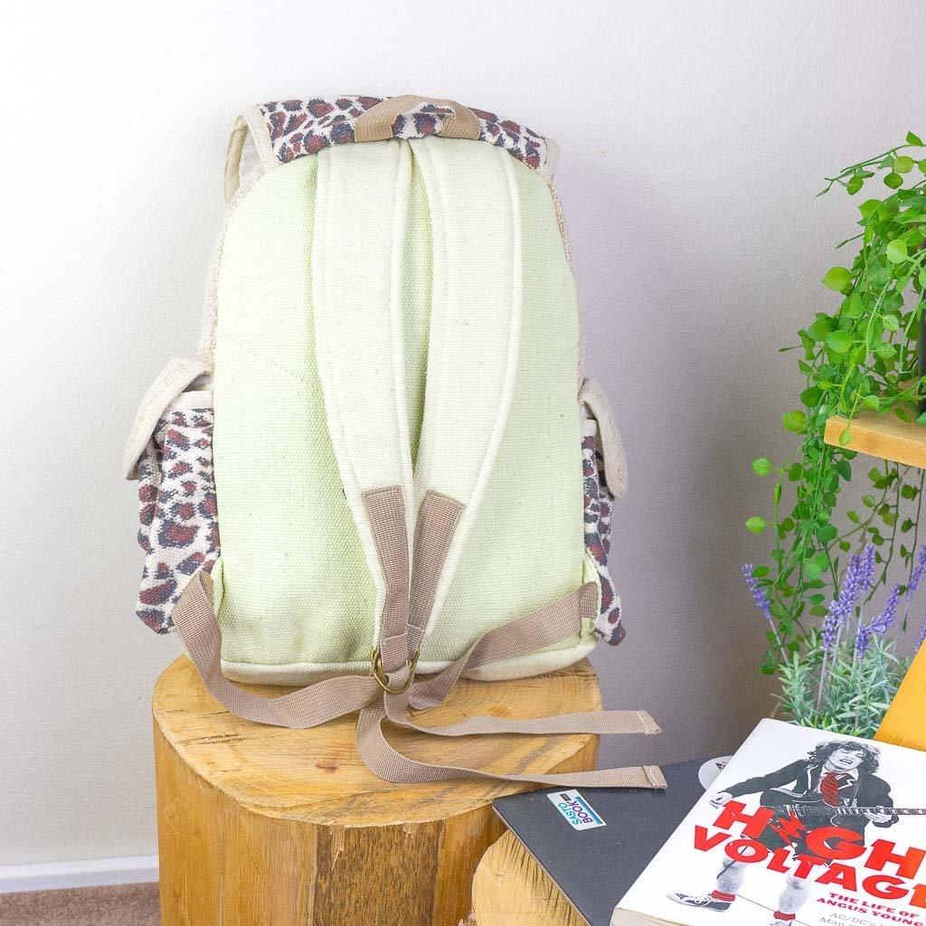 Organic Hemp Backpack-45