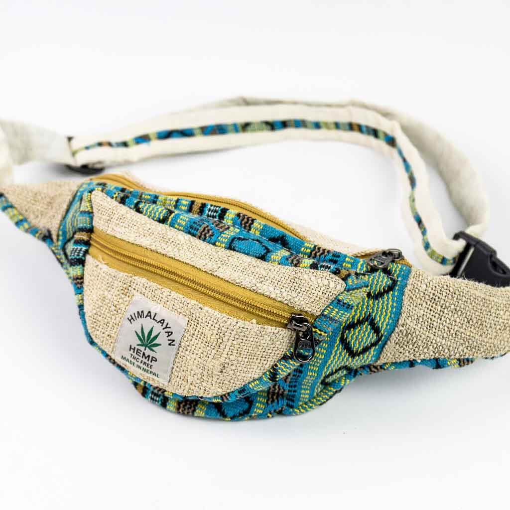 hemp fanny pack, hemp money belt, hemp bum bag