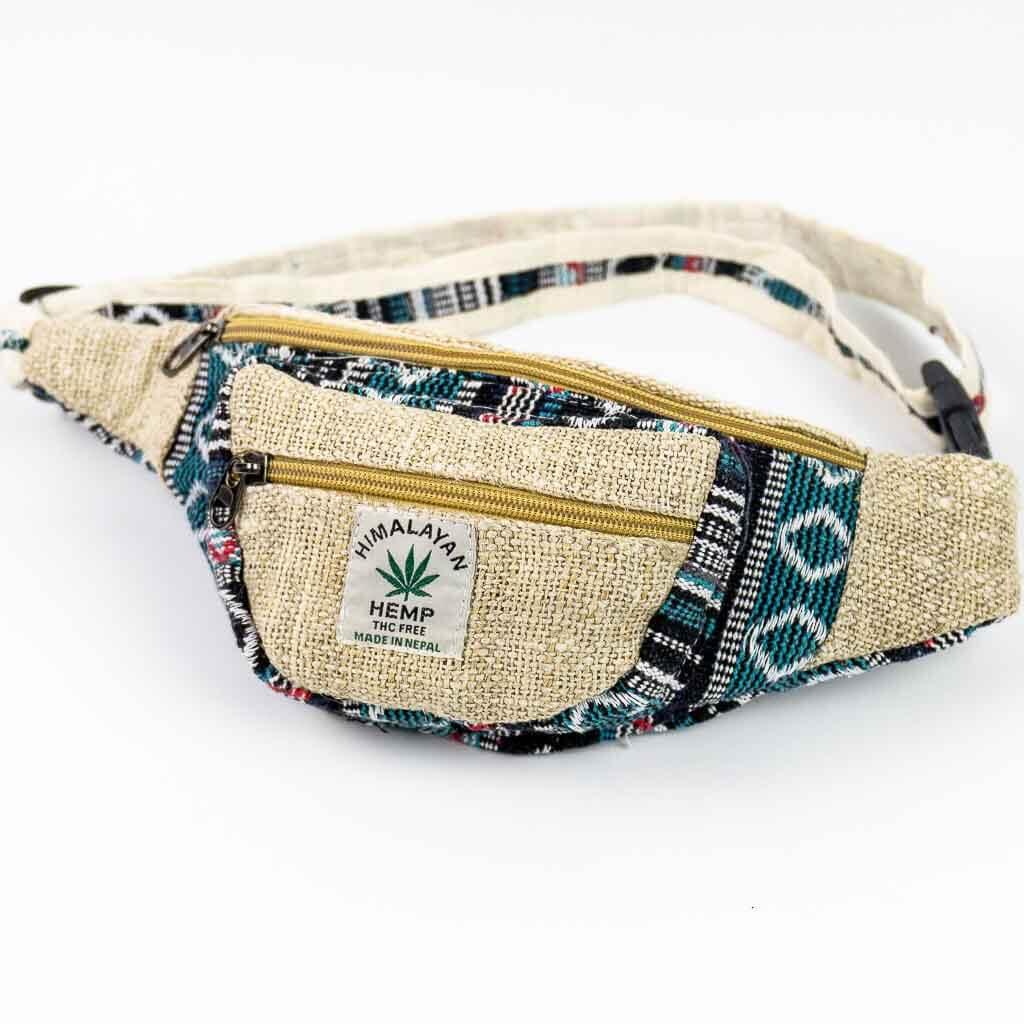 hemp fanny pack, hemp money belt, hemp bum bag